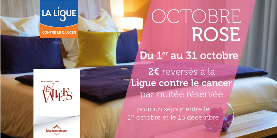 OCTOBRE ROSE & L